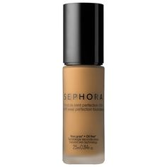 SEPHORA COLLECTION's 10 HR Wear Perfection Foundation blends away unevenness and spots to deliver a flawless, natural-looking finish.