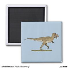 SOLD 6/11/2017 through Zazzle to a customer in Janesville, WI: one Tyrannosaurus rex magnet. #Zazzle #sold #magnet #Tyrannosaurus #Tyrannosaurus_rex #Tyrannosaur #dinosaur