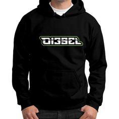 Di3seL Logo Shirt Gildan Hoodie (on man) Shirt