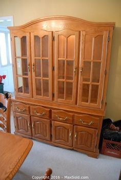 Solid Wood Hutch