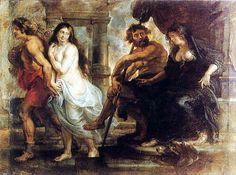 Orfeo y Euridice- Peter Paul Rubens.  Cipactli López Rdz.
