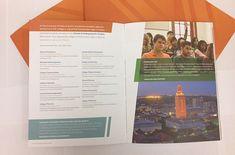 College print material on pinterest brochures brochure for Brochure design austin