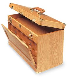 Wood tool cabinet plans, Workshop Toolboxes and Cabinets .
