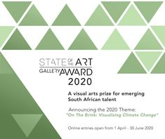 The StateoftheART Gallery Award is annual visual arts competition for emerging artists based in South Africa. Call For Entry, Art Competitions, Three Words, State Art, Awards, Encouragement, Art Gallery, Instagram, Art Museum