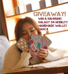 If you are a lucky Samsung Galaxy S4 owner, this giveaway is for you! We offer you for free this amazing wallet case for galaxy S4!