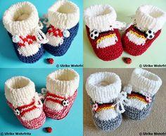 Die Babyschuhe sind garantiert  handgestrickt. Sie sind mit sehr schöner und weicher Wolle (Baumwollmischgarn) gestrickt und absolut pflegeleicht....