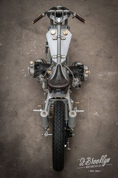 """BMW Bobber """"LEtonnante"""" by St-Brooklyn Motorcycles #motorcycles #bobber #motos   caferacerpasion.com:"""