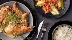Królik duszony w sosie z pieczarkami Lidl, Pork, Chicken, Meat, Poland, Cooking, Kale Stir Fry, Kitchen, Pork Chops