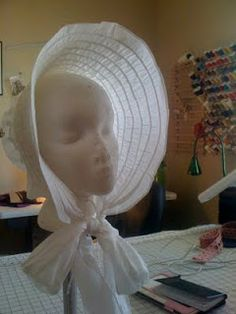 Regency Drawn Bonnet... Pattern and Tutorial