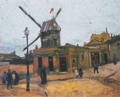 Le Moulin de la Galette, 1886 Vincent van Gogh