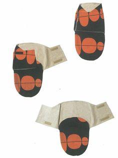DIY swaddle blanket pattern