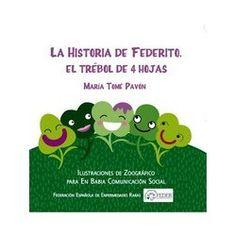 La historia de Federito, el trébol de 4 hojas, un precioso libro de Isekin, en eShoplidaria!  #solidaridad