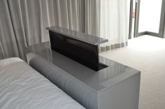 TV at the foot of your bed