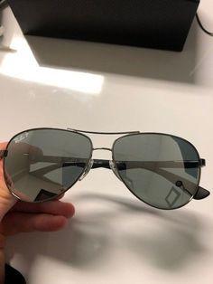 88d3781f6b Ray-Ban RB 8313 004 K6 Silver Silver Mirrored Custom Sunglasses