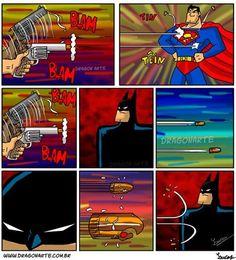 Batman vs Superman - Batman Funny - Funny Batman Meme - - Batman vs Superman The post Batman vs Superman appeared first on Gag Dad. Bd Comics, Marvel Dc Comics, Funny Comics, Humor Batman, Batman Vs Superman, Batman Arkham, Batman Art, Batman Robin, Univers Dc