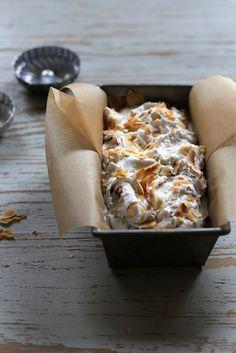 Vegan Toasted Coconut and Pistachio Ice Cream / joy the baker