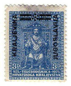 Postage Stamp: Yugoslavia      c. 1925