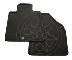 Traverse Floor Mats, Front Carpet Replacements, Ebony: These Carpet Replacement Floor Mats for the front of your vehicle duplicate your original production floor mats exactly.