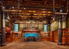 Herzog & de Meuron has completed the restoration of a 19th-century room at the Park Avenue Armory, a Manhattan building with interiors by Louis C Tiffany