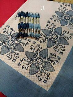 Cross Stitch Flowers, Hgtv, Cross Stitching, Diy And Crafts, Felt, Embroidery, Crochet, The Originals, Tablecloths