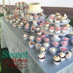 Cupcake Display by Sweet For Sirten