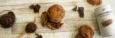 Cookie cœur fondant chocolat-noisette - Recette vegan   nu3Kitchen Cacao Cru, Cookies Et Biscuits, Butcher Block Cutting Board, Nutrition, Healthy, Desserts, Vegan, Fluffy Biscuits, Recipes