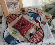 sewing caddy - unfortunately no pattern but pictures are pretty clear