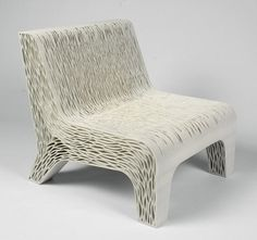 Biomimicry 3D Printed Soft Chair is a Furniture First | Inside3DP.com