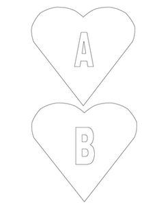Valentine ABC's Craft - Goes with book!