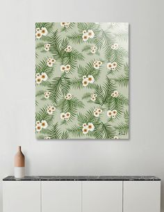 Discover «Vintage Jungle Pattern», Limited Edition Acrylic Glass Print by DesigndN - From 95€ - Curioos