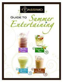 summer drink recipes for Tassimo