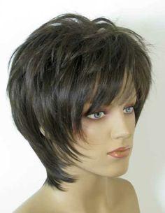 Pictures Of A Gypsy Shag Haircut Shaggy Short Hair, Long Shag Haircut, Short Shag Hairstyles, Haircuts For Fine Hair, Short Hairstyles For Women, Hairstyles Haircuts, Cool Hairstyles, Medium Hair Cuts, Short Hair Cuts