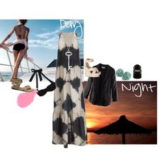 """Boat Trip - Day to Night"" by cookiek on Polyvore"