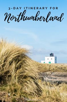 Here's the perfect itinerary for Northumberland's North Sea coast. From iconic castles to stunning coastline, there's a lot to see and do in this part of England. Northumberland England, Northumberland National Park, England Countryside, Visit Uk, Travel Tours, Travel Guides, North East England, Uk Holidays, Holiday Places