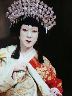 坂東玉三郎 TAMASABURO BANDO 篠山紀信撮影  雲の絶え間の姫