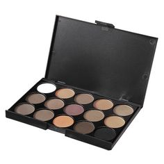 Professional 15 Colors Smoked Eyeshadow Palette Warm Matte Shimmer... (76 MXN) ❤ liked on Polyvore featuring beauty products, makeup, eye makeup, eyeshadow, shiny eyeshadow, eye pencil makeup, palette eyeshadow, eye brow makeup and pencil eyeliner