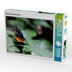 Tiger-Passionsblumenfalter (Foto-Puzzle)