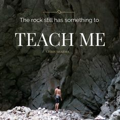 We're learning every time we're on the rock! #NoBetaNeeded