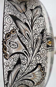 """Detail - Sklářská škola  Kamenický Šenov, Konrad & Liebsch Doba výroby """" cca 1916 Rozměr:14,3 x 18,9 Návrhář - designer:Adolf Beckert (?)"""