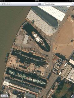 Chatham historic dockyard. X
