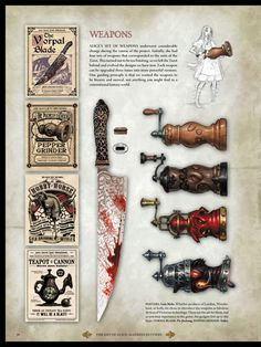 Alice madness returns weapons