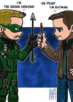 Oliver Queen & Dean Winchester