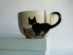 cat tail cup