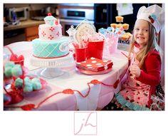 bake shop party love the color scheme!