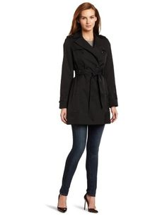 Tommy Hilfiger Women's Emma Classic Spring Notch Belted Trench Coat for $179.99