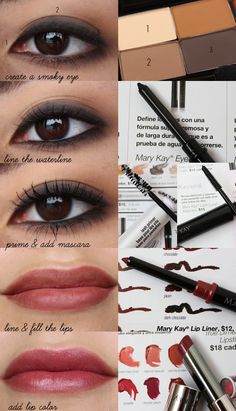 Mary Kay eye makeup tutorial http://www.marykay.com/lisabarber68  Call or text 386-303-2400