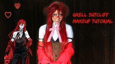 Grell Sutcliff Makeup Tutorial | Kuroshitsuji