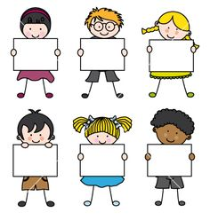 Cute cartoon kids frame vector 1241580 - by sbego on VectorStock®