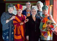 How fabulous do they all look? Tziporah, Lynn Dell, Ari Seth Cohen, Joyce Carpati, Lina, Plioplyte, and Debra Rapoport at the HotsDocs Premiere of Advanced Style The Documentary.