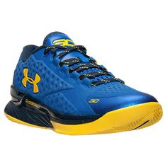 Men's Under Armour Curry One Low Basketball Shoes - 1269048 400 | Finish Line